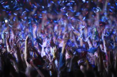Music Festival, Concert, Audience
