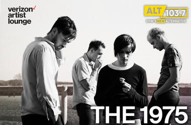 The 1975 In The Verizon Artist Lounge