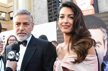 George Clooney,Crash,Video,Motorcycle,Italy,ATL 103.7