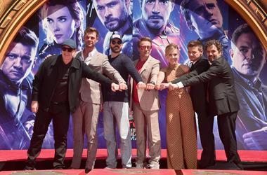 Avengers Endgame Cast Get Stars on Walk of Fame