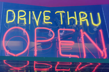 Drive-Thru Sign