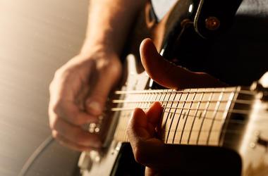 Man, Electric Guitar, Playing Guitar, Bend, Solo