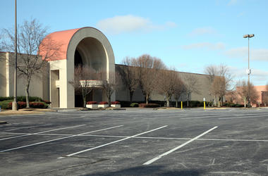 Shopping Mall, Empty, Parking Lot, Abandoned