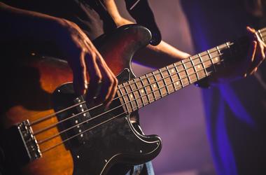 Bass, Guitar, Music, Instrument, Playing, Finger Picking