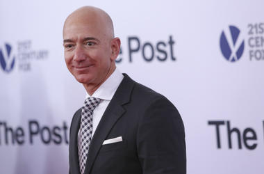 Jeff Bezos,Salary,Median,Amazon,10 Seconds,Money,Rich,Executives,CEO,Radio,Employees,ALT 103.7