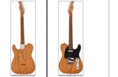 Stevie Ray Vaughan's 1951 Fender