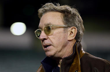 Tim Allen, Sunglasses, NFL Sideline