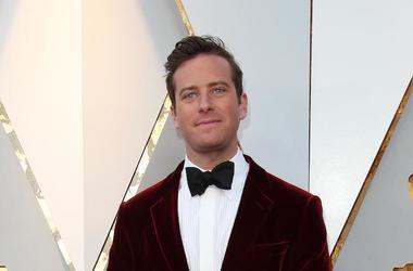 Armie Hammer, Red Carpet, 90th Academy Awards, Velvet Tux