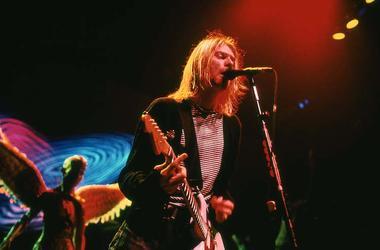 Kurt Cobain, Nirvana, Concert, Singing, New York Coliseum, 1993