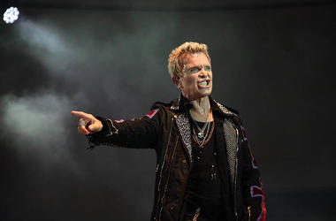 Billy Idol, Concert, Stage, Snarl