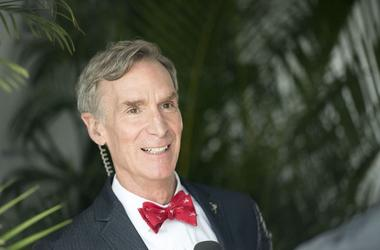 Bill Nye, Interview, Red Bow Tie, Smile