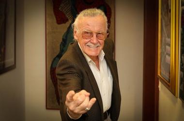 Stan Lee, MegaCon, Spider-Man Pose, Smile, 2018