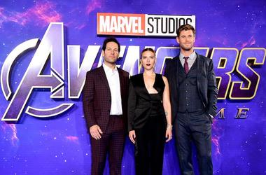 Avengers: Endgame, Red Carpet, London Premiere, Paul Rudd, Scarlett Johansson, Chris Hemsworth