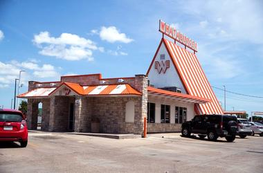 Whataburger, Corpus Christi, A-Frame Restaurant, Pretty Day, 2019