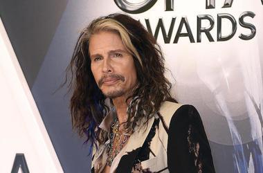 Steven Tyler, CMA Awards, Red Carpet, 2015
