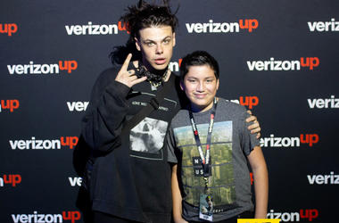 Yungblud Meet And Greet In The Verizon Artist Lounge