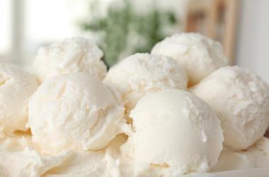 Bowl, Vanilla, Ice Cream