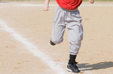 Baseball, Running, Kid