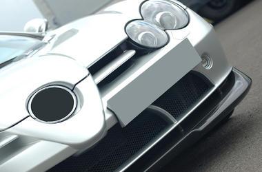 McLaren, Car, Front, Close