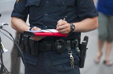 Police, Officer, Ticket, Citation
