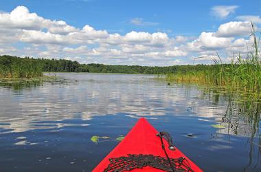 Kayak, Lake, Water