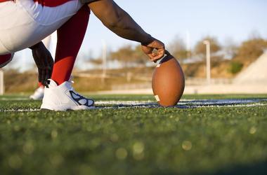 Football, Field Goal, Holder