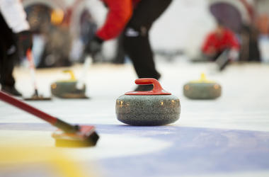 Curling, Stones, Ice, Broom, Sweeping