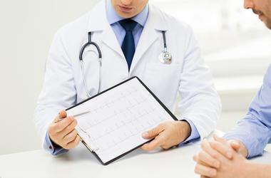 Doctor, Clipboard, Patient