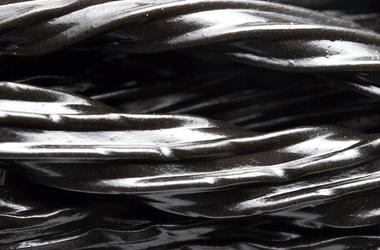 Black Licorice, Candy, Closeup