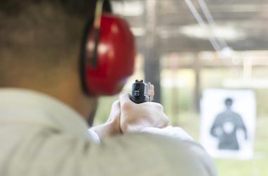 Gun Range, Firearm, Shooting, Target