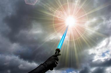 Blue, Lightsaber, Star Wars
