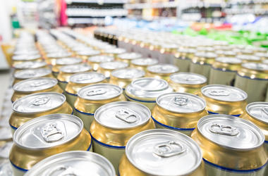 Beer, Grocery Store, Beer Cans