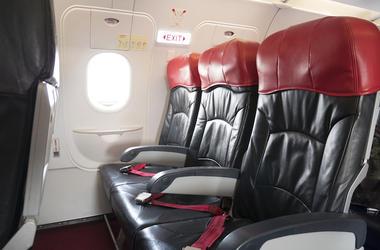 Plane, Seats, Emergency Exit
