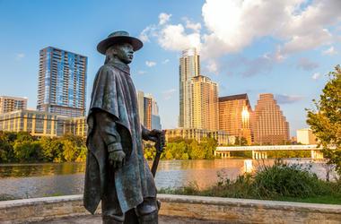 Bronze Stevie Ray Vaughan Statue