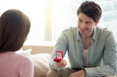 Guy Proposes To Girl