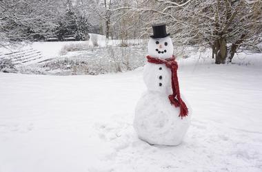 Snowman, Snow, Winter, Frosty