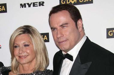 Olivia Newton-John, John Travolta, Red Carpet, G'day USA Gala, 2010