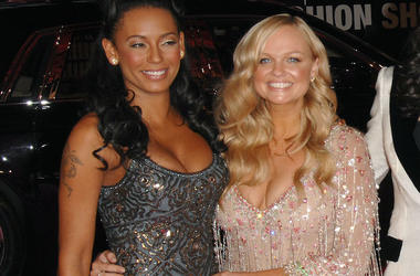 Emma Bunton, Mel B, Baby Spice, Scary Spice, Red Carpet, Fancy