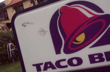 Taco Bell, Sign, California, Hotel, 2005