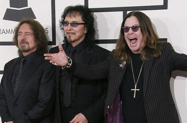 Black Sabbath, Grammys, Red Carpet, Geezer Butler, Tony Iommi, Ozzy Osbourne