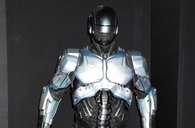 RoboCop, Costume, Suit, Movie Premiere, Display, 2014