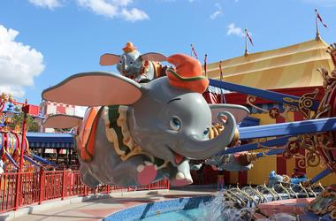 Dumbo, Ride, Disney World, Disney