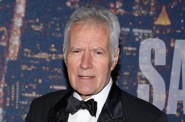 Alex Trebek, Red Carpet, Saturday Night Live, SNL, 40th Anniversary, 2015