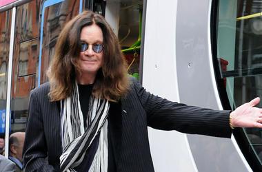 Ozzy Osbourne, Midland Metro Tram, 2016