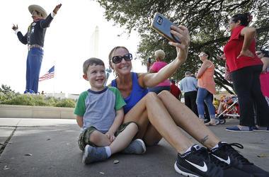 State Fair of Texas, Big Tex, Selfie