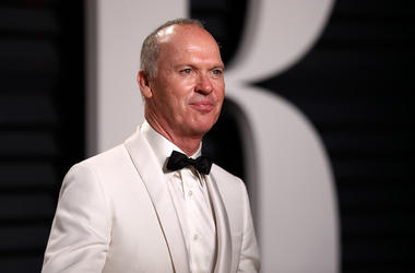 Michael Keaton, Red Carpet, White Suit