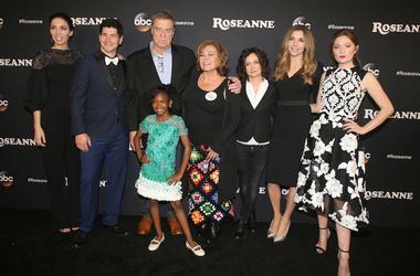 Roseanne, Cast, Red Carpet
