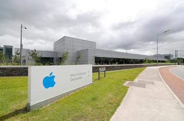 Apple Headquarters, Europe, Sign