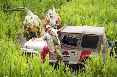Tom Pearcy, Jurassic Park, Dinosuars, Maze, Costume, Jeep