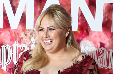 Rebel Wilson, Red Carpet, Isn't It Romantic, Premiere, Smiling, Red Dress